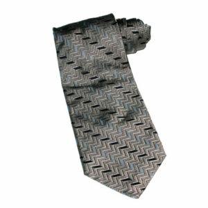 Nautica Men's Geometric Silk Tie